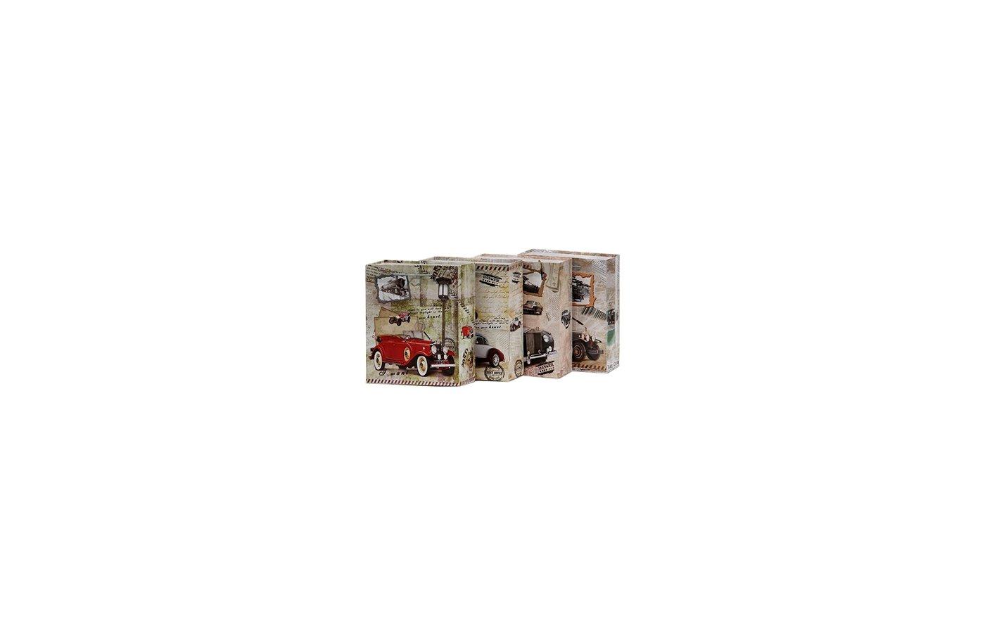 Пакет VETTA 507-457 Пакет подарочный бумажный 22х18х8см Ретро-авто