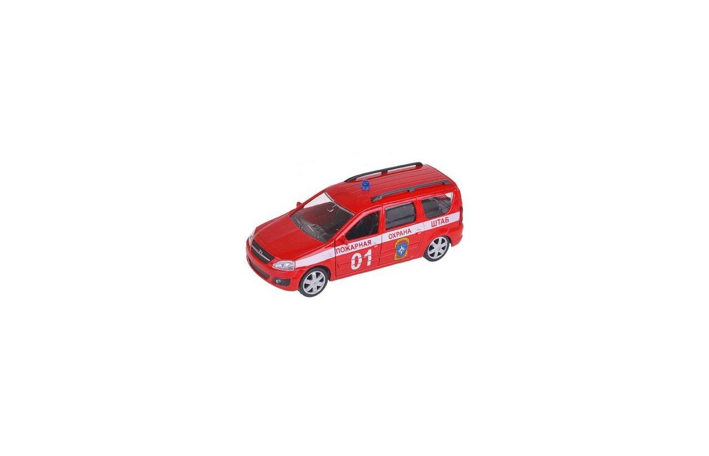 Машинка AUTOTIME модель 49482 Lada Largus Пожарная охрана