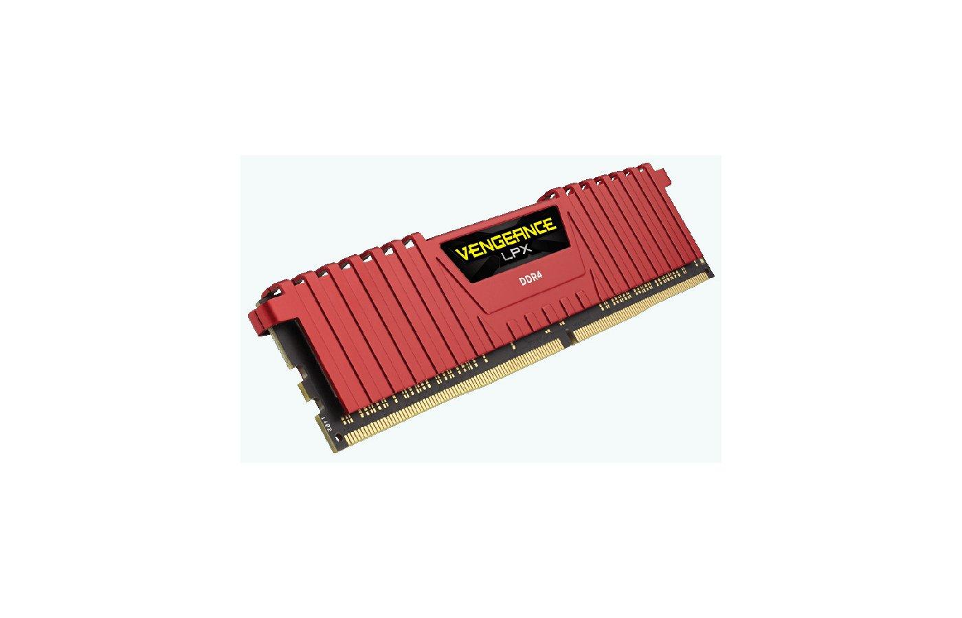 Оперативная память Corsair CMK4GX4M1A2400C14R RTL PC4-19200 DDR4 4Gb 2400MHz CL14 DIMM