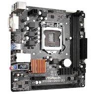 Фото Материнская плата Asrock H110M-DGS Soc-1151 Intel H110 2xDDR4 mATX AC`97 8ch(7.1)
