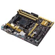 Фото Материнская плата Asus A88XM-PLUS Soc-FM2+ AMD A88X 4xDDR3 mATX AC`97 8ch(7.1)