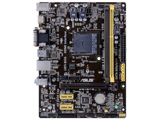 Материнская плата Asus AM1M-A Soc-AM1 2xDDR3 mATX AC`97 8ch(7.1)