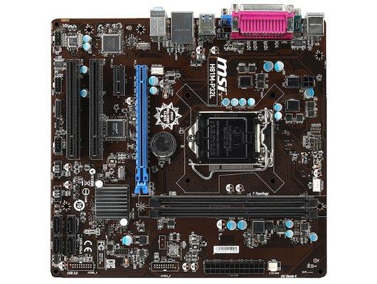 Материнская плата MSI H81M-P32L Soc-1150 Intel H81 2xDDR3 mATX AC`97 8ch(7.1)