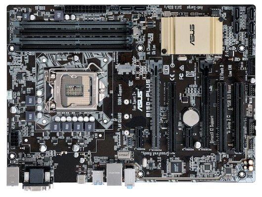 Материнская плата Asus B150-PLUS Soc-1151 Intel B150 4xDDR4 ATX AC`97 8ch(7.1)