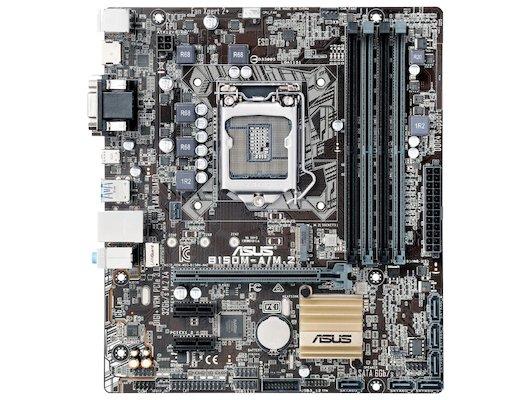 Материнская плата Asus B150M-A/M.2 Soc-1151 Intel B150 4xDDR4 mATX AC`97 8ch(7.1)