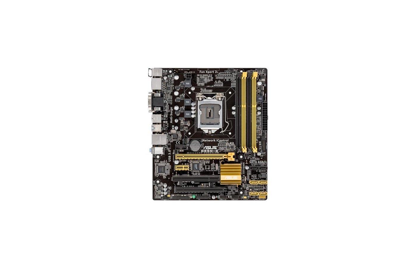 Материнская плата Asus B85M-E Soc-1150 Intel B85 4xDDR3 mATX AC`97 8ch(7.1)