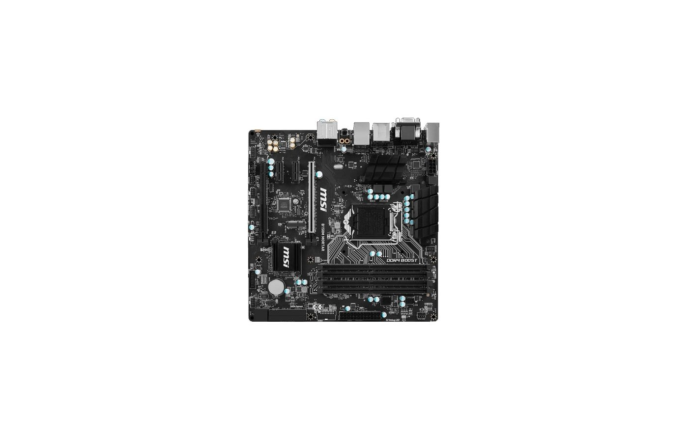Материнская плата MSI B150M MORTAR Soc-1151 Intel B150 4xDDR4 mATX AC`97 8ch(7.1)