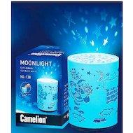 Фото Декоративный светильник Camelion NL-138 Санта (светодиодный ночник 4.5V 0.1W 3 х LR03 )
