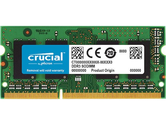 Оперативная память Crucial CT25664BF160B RTL PC3-12800 DDR3L 2Gb 1600MHz CL11 SO-DIMM