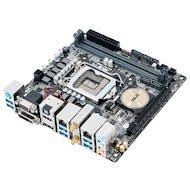 Фото Материнская плата Asus H170I-PRO Soc-1151 Intel H170 2xDDR4 mini-ITX AC`97 8ch(7.1)
