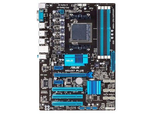 Материнская плата Asus M5A97 PLUS Soc-AM3+ AMD 970 4xDDR3 ATX AC`97 8ch(7.1)