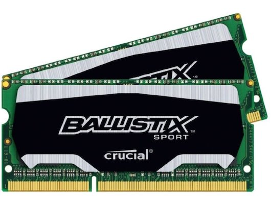 Оперативная память Crucial BLS2C4G3N18AES4CEU RTL PC3-14900 DDR3L 2x4Gb 1866MHz CL10 SO-DIMM