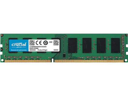 Оперативная память Crucial CT102464BD160B RTL PC3-12800 DDR3 8Gb 1600MHz CL11