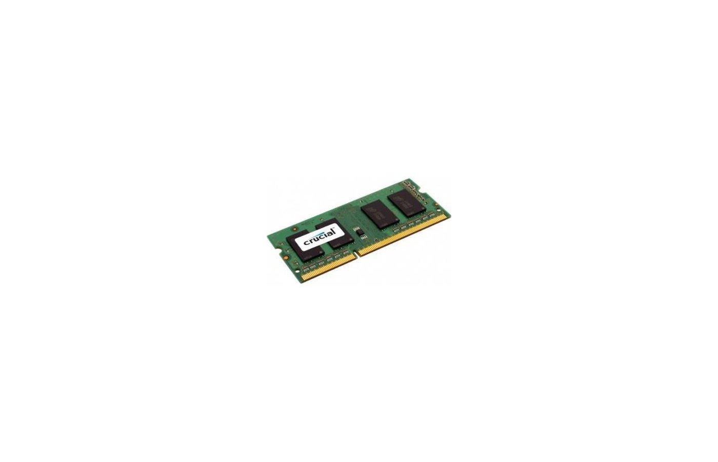 Оперативная память Crucial CT51264BF160B(J) RTL PC3-12800 DDR3L 4Gb 1600MHz CL11 SO-DIMM