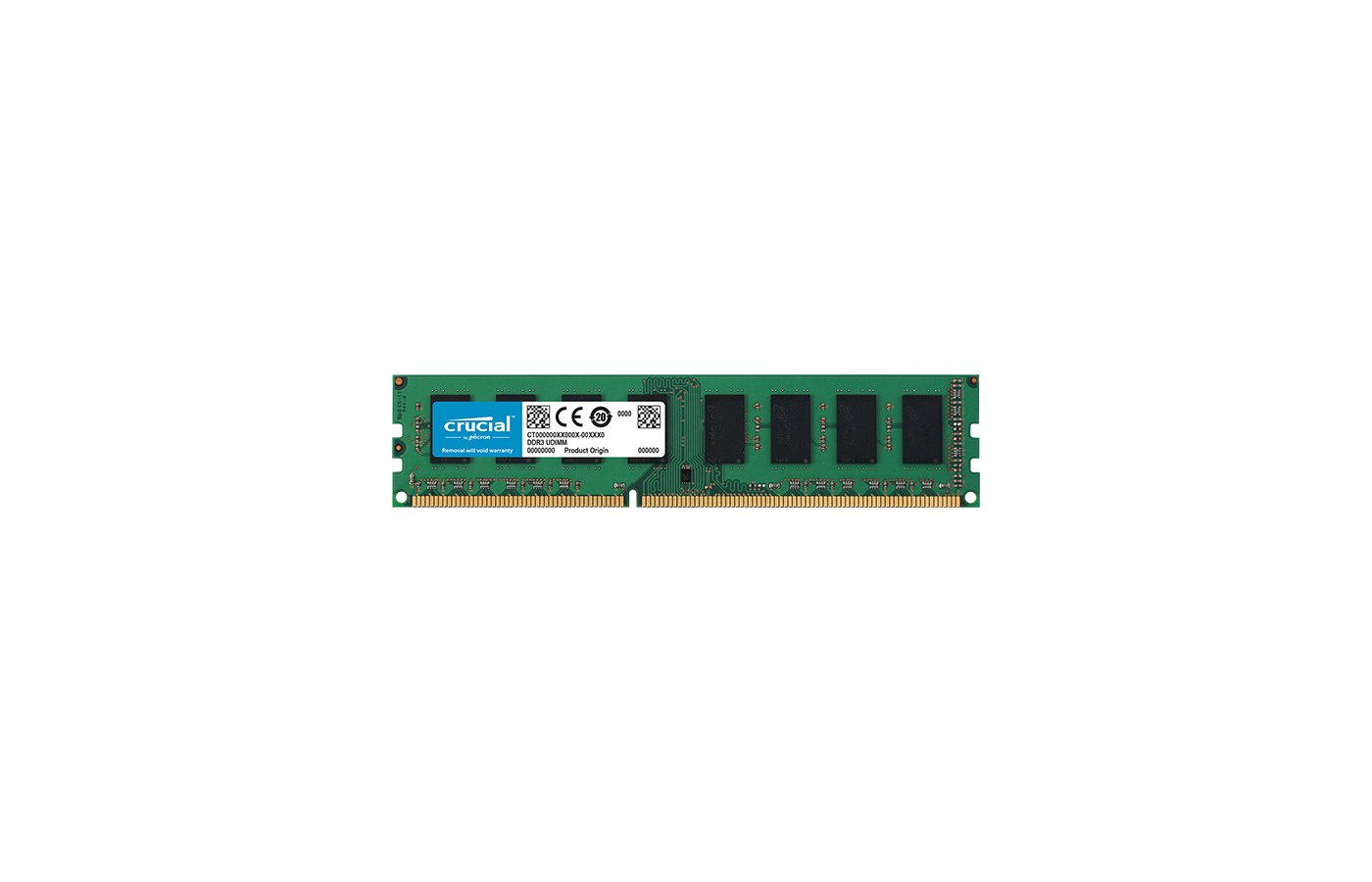 Оперативная память Crucial CT51264BD160BJ RTL PC3-12800 DDR3 4Gb 1600MHz CL11