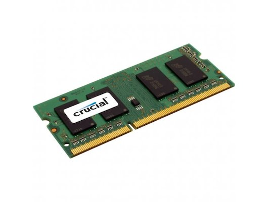 Оперативная память Crucial CT102464BF160B RTL PC3-12800 DDR3L 8Gb 1600MHz CL11 SO-DIMM