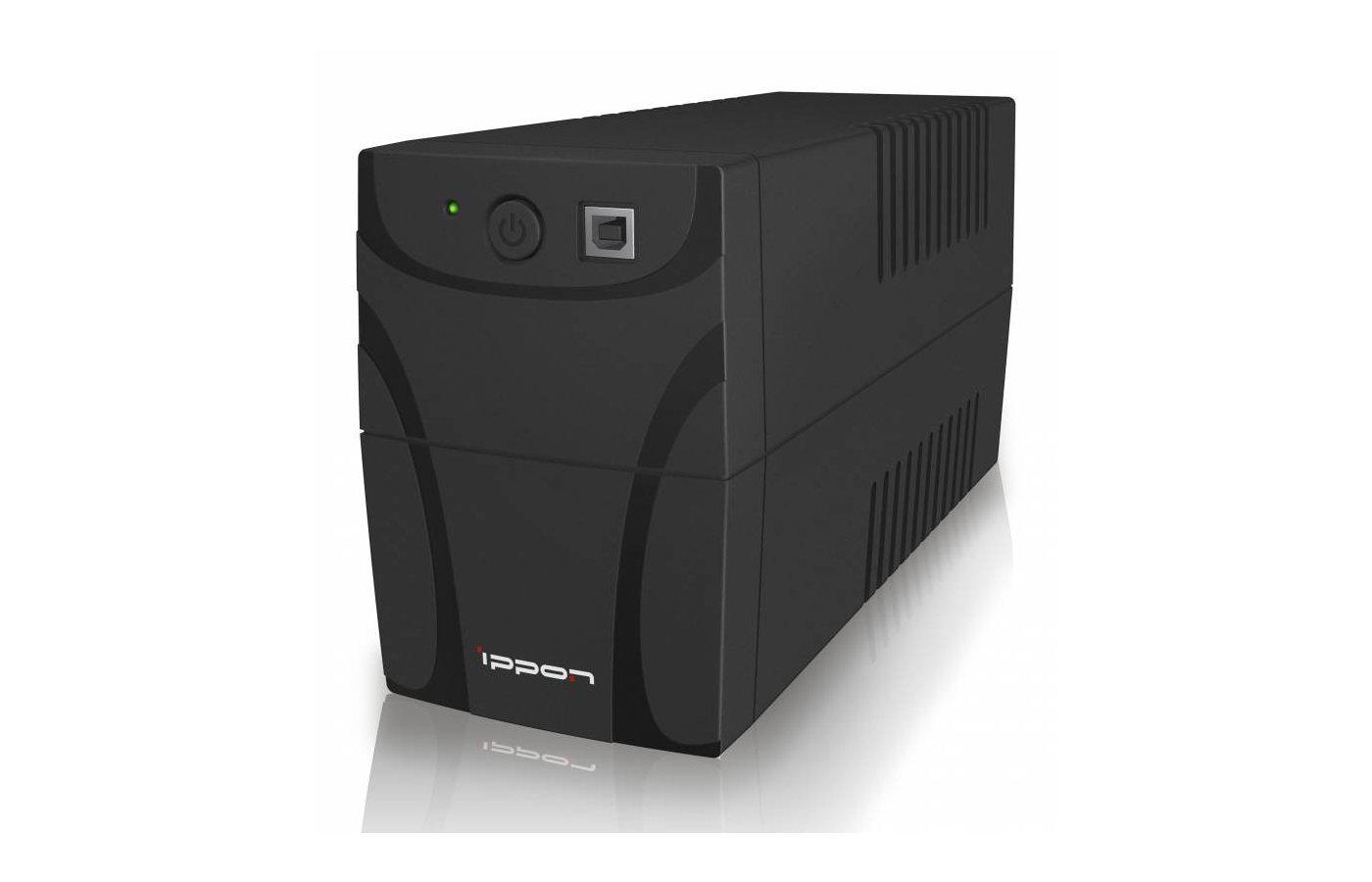 Блок питания Ippon Back Power Pro 500 black