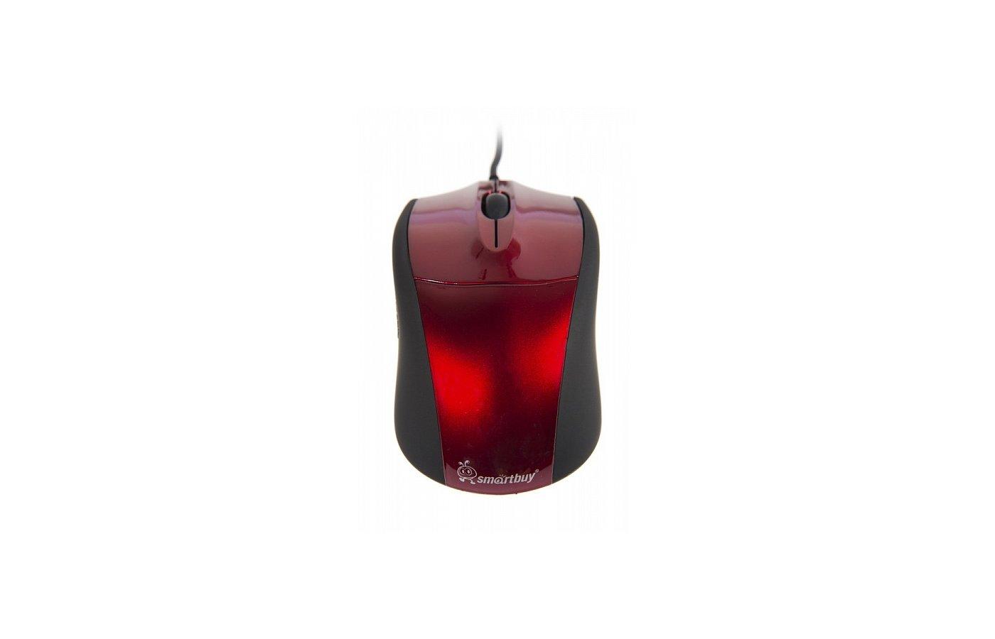 Мышь проводная Smartbuy 325 USB Red