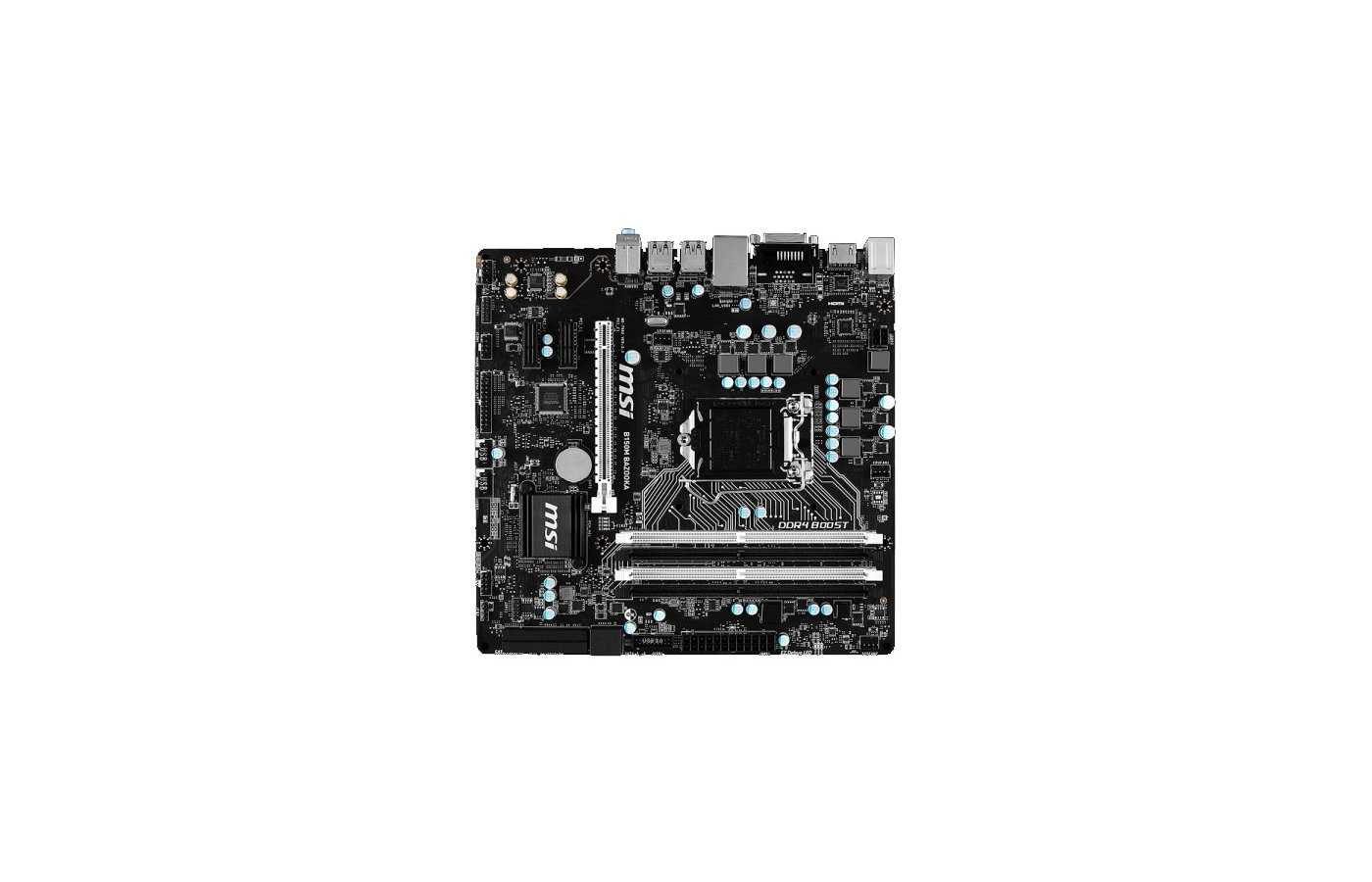 Материнская плата MSI B150M BAZOOKA Soc-1151 Intel B150 4xDDR4 mATX AC`97 8ch(7.1)