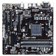 Фото Материнская плата Gigabyte GA-F2A68HM-D3H Soc-FM2+ AMD A68H 4xDDR3 mATX AC`97 8ch(7.1)
