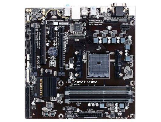 Материнская плата Gigabyte GA-F2A68HM-D3H Soc-FM2+ AMD A68H 4xDDR3 mATX AC`97 8ch(7.1)