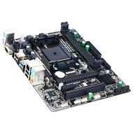 Фото Материнская плата Gigabyte GA-F2A68HM-S1 Soc-FM2+ AMD A68H 2xDDR3 mATX AC`97 8ch(7.1)