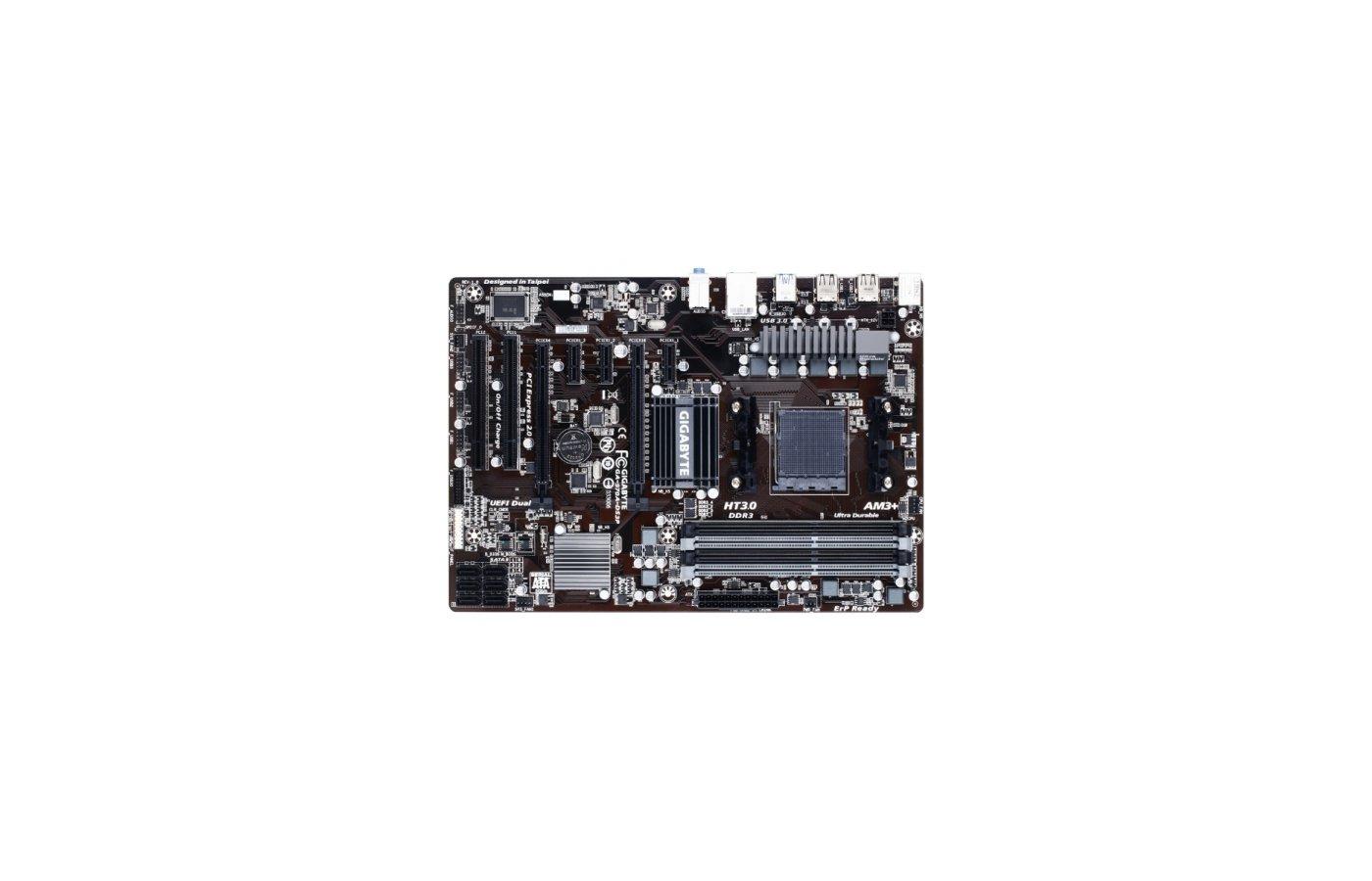 Материнская плата Gigabyte GA-970A-DS3P Soc-AM3+ AMD 970 4xDDR3 ATX AC`97 8ch(7.1)