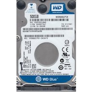 Фото Жесткий диск WD Original SATA-III 500Gb WD5000LPCX Blue (5400rpm) 16Mb 2.5""