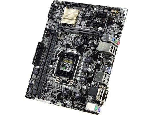 Материнская плата Asus H110M-A/DP/C/SI Soc-1151 Intel H110 2xDDR4 mATX AC`97 8ch(7.1)