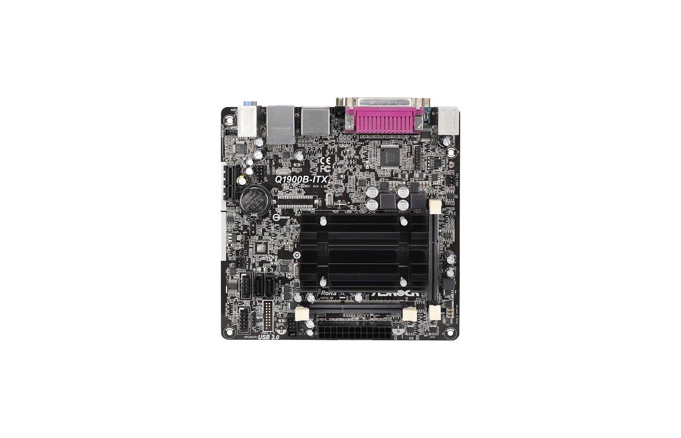 Материнская плата Asrock Q1900B-ITX mini-ITX AC`97 6ch(5.1)