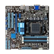 Материнская плата Asus M5A78L-M PLUS/USB3 Soc-AM3+ AMD 760G 4xDDR3 mATX AC`97 8ch(7.1)