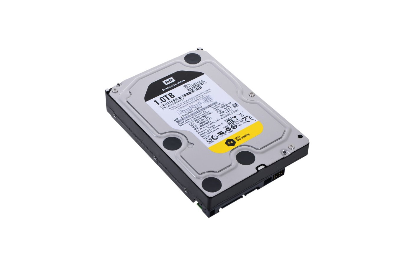 Жесткий диск WD Original SATA-III 1Tb WD1003FBYZ RE (7200rpm) 64Mb 3.5""