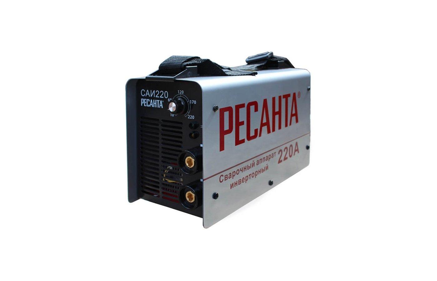 Сварочный аппарат Ресанта САИ-220 в кейсе