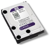 Фото Жесткий диск WD Original SATA-III 3Tb WD30PURX Purple (5400rpm) 64Mb 3.5""