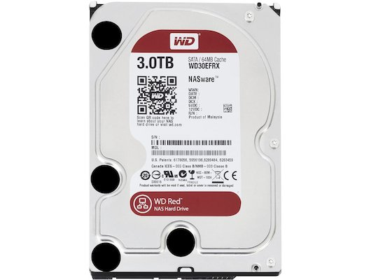 Жесткий диск WD Original SATA-III 3Tb WD30EFRX Red 64Mb 3.5""