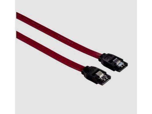 Шлейф Hama H-54574 SATA III внутренний 6Гбит/с 0.45 м красный