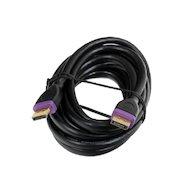 Фото Видео кабель Hama H-78443 DisplayPort (m-m) 3м позолоченные контакты двойное экранирование 3зв черный