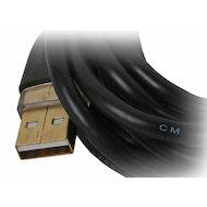 Фото USB Кабель Hama H-46772 USB2.0 A(m) - B(m) 3м экран. Позолоченные контакты