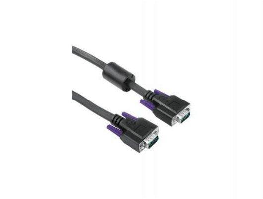 Видео кабель Hama H-20185 VGA(m) - VGA(m) 1.8м серый