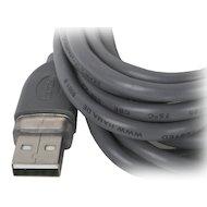 Фото USB Кабель Hama H-45022 USB 2.0 A(m) - В(m) 3м 1зв серый