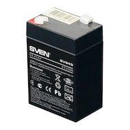 Фото Блок питания SVEN SV 645 (6V 4.5Ah) F1 Батарея
