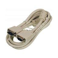 Видео кабель Ningbo VGA(m) - VGA(m) 1.8м Pro 2 фильтра (CAB016S-06F)