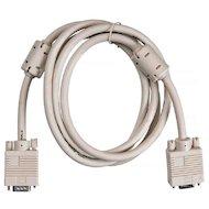 Фото Видео кабель BURO VGA(m) - VGA(f) Удлинитель 2 фильтра 1.8м (VGA-15M/Fpro)