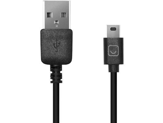 USB Кабель Prime Line USB-mini USB черный