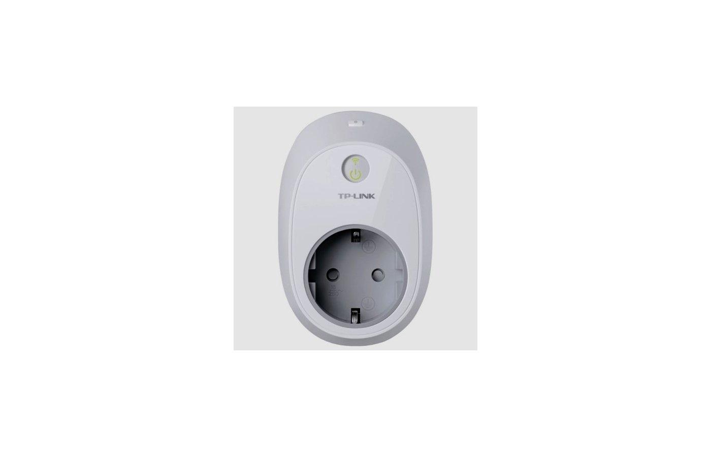 Сетевое оборудование TP-Link HS100 Умная Wi-Fi розетка белый