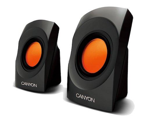Компьютерные колонки CANYON CNR-SP20JB Black