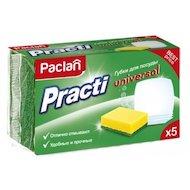 Фото Средсва по уходу за кухней PACLAN 409130 Practi губки для посуды 5шт