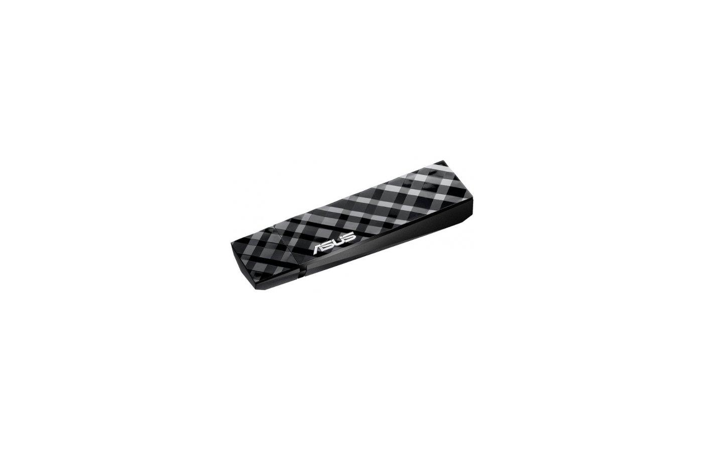 Сетевое оборудование Asus USB N53 USB 2.0 802.11n 300Mbps dual-band беспроводной адаптер