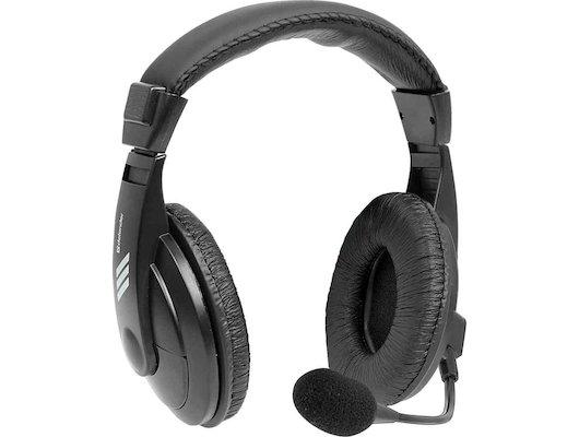 Наушники с микрофоном проводные Defender Gryphon HN-750 Black