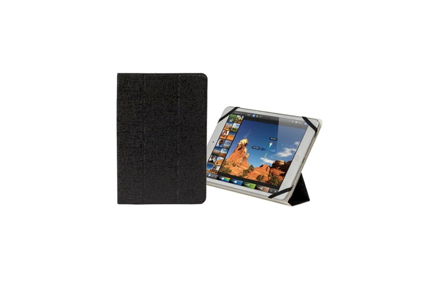 Чехол для планшетного ПК Riva Case 3122 black/white универсальный для планшета 7-8